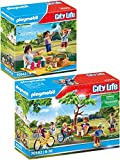 PLAYMOBIL City Life 70542 70543 - Juego de 2 piezas para parque de ciudad y picnic en el parque