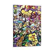 Anime Series キャンバス アート ポスターとウォール アート イメージ プリント モダンな家の寝室のインテリア ポスター 24×36inch(60×90cm)