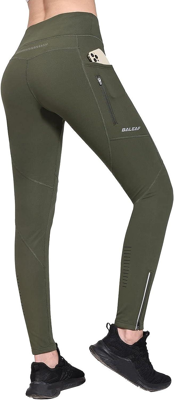 BALEAF Women's New item Fleece Lined Leggings Water Resistant Runn New Free Shipping Winter