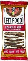 Biscoito de Arroz com Chocolate Amargo Fit Food 70g