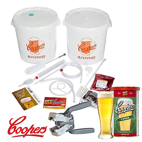 COOPERS kit fermentazione birra LUSSO - malto lager Coopers