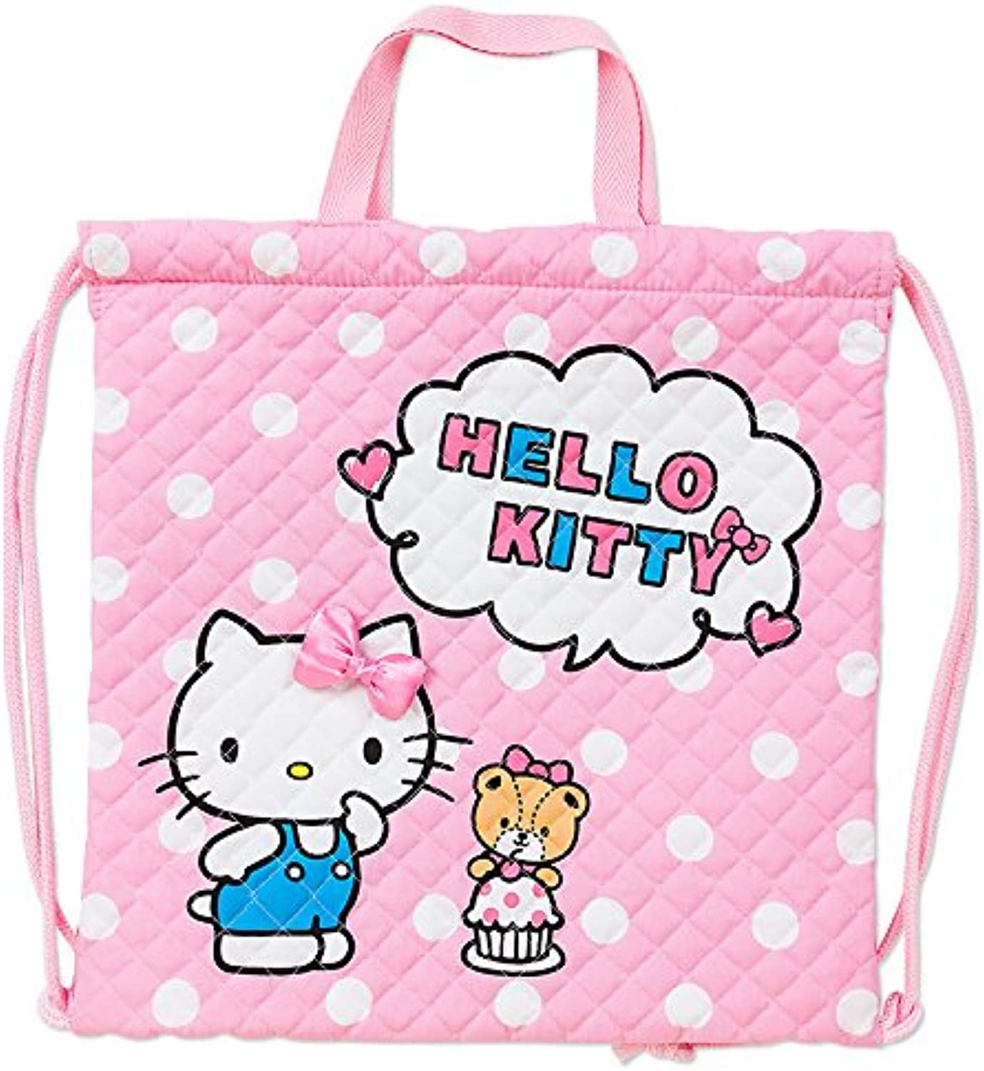 Hello Kitty Hand Dot Purse String Quilting Dpfcb6bb14270