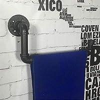 HTTZWJ ウォール収納棚、家庭用家具ウォールラックウォールデコレーションレトロな工業用水パイプスタイルタオルラックウォールトリム、家庭の壁の棚 Z8W8J8