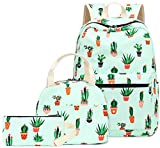 Teen Girls Backpack School Book Bag Set with Lunch Box and Pencil Case for Kids...