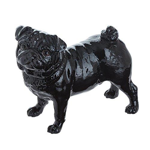 John Beswick–Figura Decorativa, diseño de Carlino, Color Negro/Multicolor