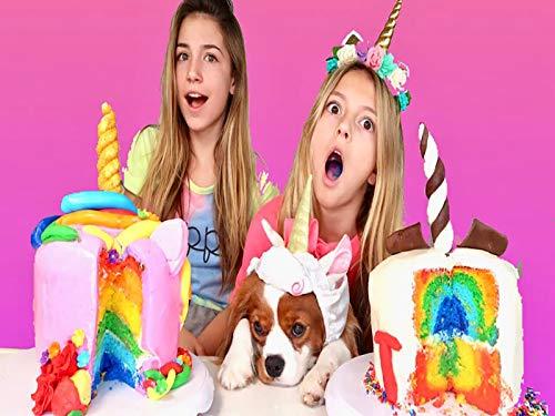Cake Challenge Rainbow Unicorn