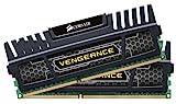 Corsair CMZ16GX3M2A1600C9 Vengeance 16GB Arbeitsspeicher ((2x8GB) DDR3 1600 Mhz CL9 XMP) schwarz