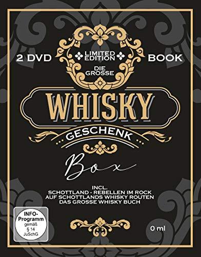 Die große Whisky-Geschenk-Box inkl. Buch