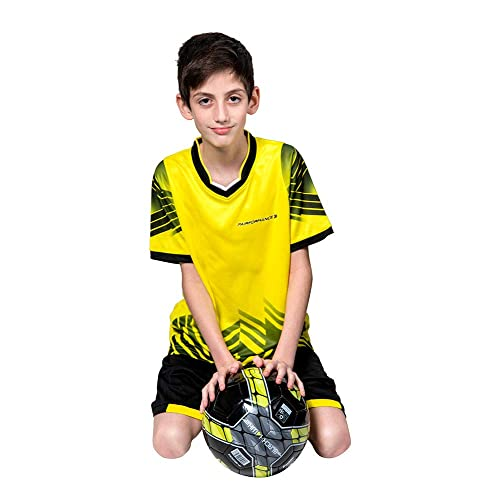 4798bbccb PAIRFORMANCE Boys' Soccer Jerseys Sports Team Training Uniform| Age 4-12 | Boys
