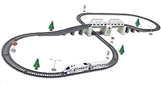 31PCS-C Children's Track Toys High-speed Railway EMU Set Track Train Track Assembly Children's Train Toys Normal Model Non...