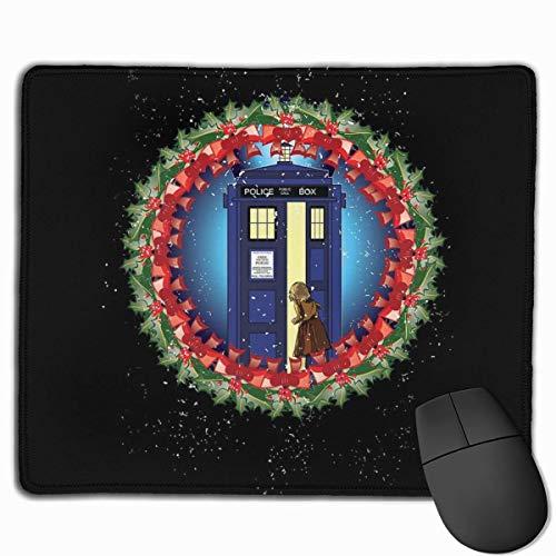 Mauspad Spirit von Narnia Tardis Doctor Who Desk Mousepad 11,8 x 9,8 Zoll rutschfeste Gummibasis, Tastaturpadmatte für Computer/Laptop