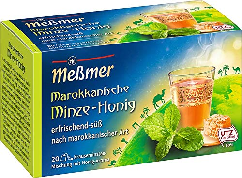 Meßmer Ländertee Marokkanische -Honig 20 Teebeutel, 40 gramm