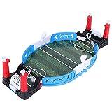 Qqmora Juego de fútbol, fácil de operar, Juego de fútbol de Mesa para 2 Personas, Juego de Mesa, para niños para niños
