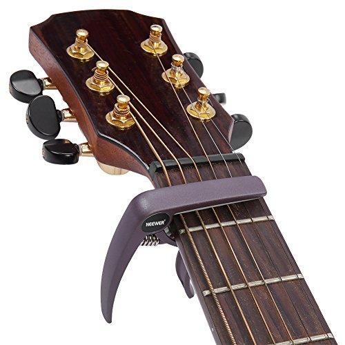 Neewer Brown Single-handed Specially Designed For Ukulele Banjo Mandolin Capo