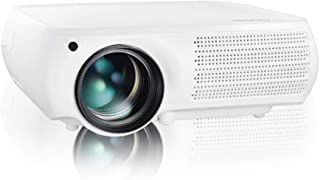 Gzunelic 7000 lumens Native 1080p LED Video Projector ± 50° 4D Keystone X / Y Zoom 10000:1 Contrast Full HD Home Theater L...