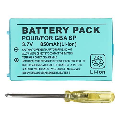 OSTENT 850mAh Recargable Litio-ion Batería + Equipo Herramienta Paquete Compatible con Nintendo...