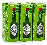 Tabasco Pimienta Verde Suave 57ml (Paquete de 2)