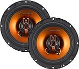 Cadencia acústica q652250W 6,5'Q-Series de 2Vías coaxial altavoces para coche, juego de 2