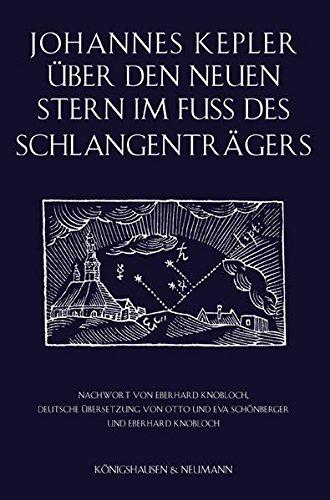 Über den neuen Stern im Fuß des Schlangenträgers (Prag 1606)