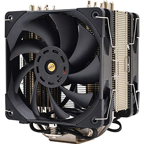 Thermalright TS 120 Plus Tower CPU Cooler, 2X 120mm PWM Fan 1850 RPM, for Intel and AMD Socket