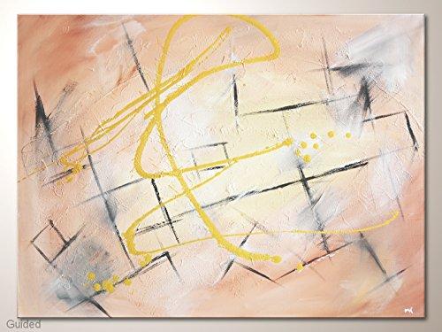 Acrylbild abstrakt, Strukturbild, modernes Bild