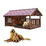 MAFANG® Caseta De Perros para Exterior Casa para...