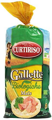 Curtiriso Gallette, Biologiche Mais - 130 gr