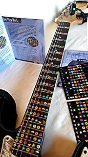 guitar fret stickers