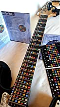 NeckNotes Guitar Trainer | Color Coded Fretboard Fret Map Guitar Note Stickers for Beginner to Advanced Learning of Guitar...