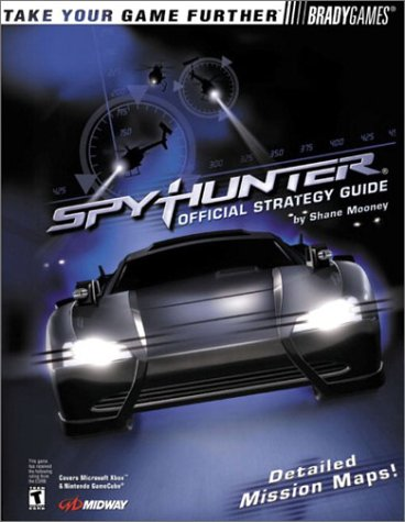 Spy Hunter Official Strategy Guide for Xbox & GameCube