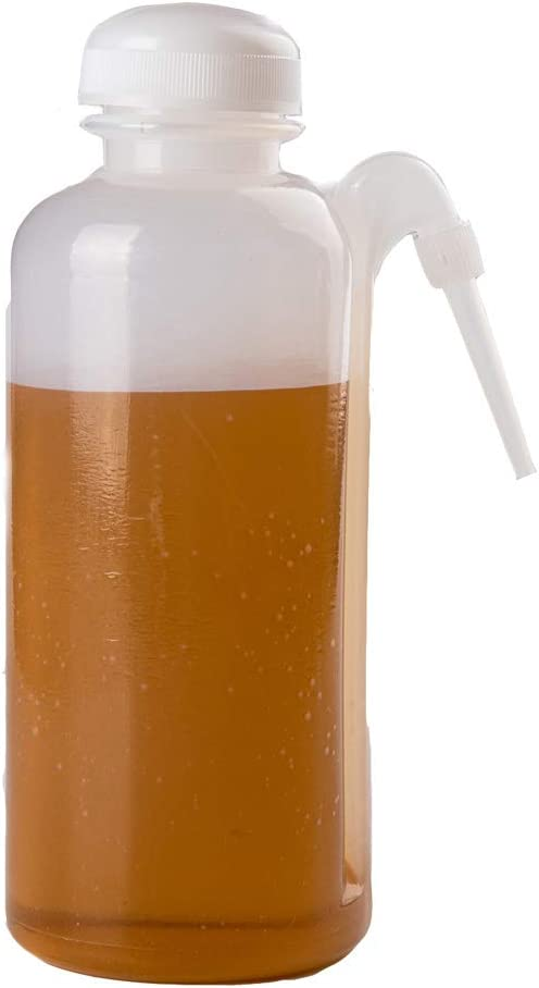 JRLGD 500ml OFFicial store Safety Wash Bottle LDPE Squeeze Mouth Ranking TOP15 Economy Narrow