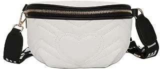 Chest Bag 2019 New Bags for Women Pack Waist Bag Women Love Belt Bag Luxury Brand Leather Crossbody Bag pochete Feminina