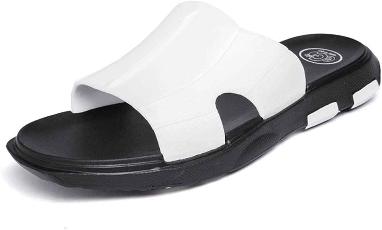 män s Sandaler, Sandaler, Sandaler, Mann's Pool Slip on Slipper upp till Storlek 10MUS (färg  vit, Storlek  8MUS)  extremt låga priser