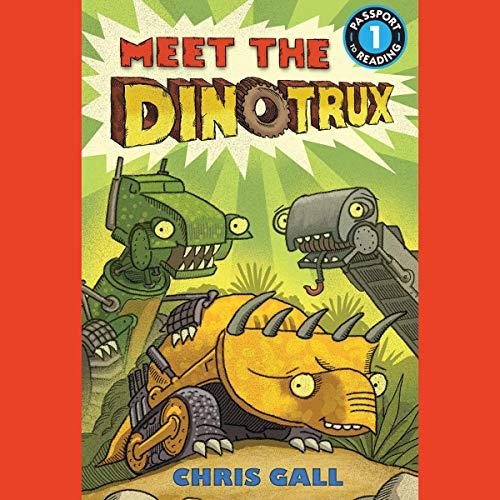 Meet the Dinotrux audiobook cover art