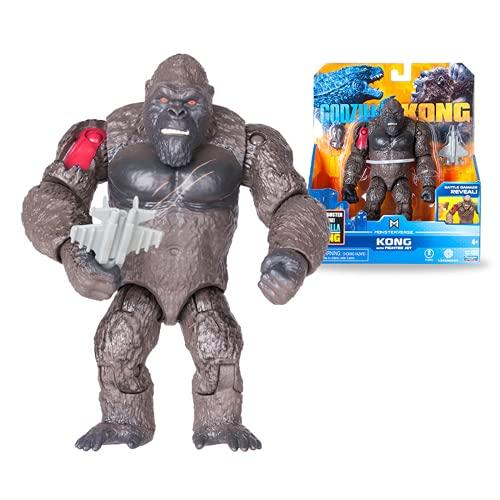 Godzilla vs Kong Movible Junta Skullcrawler Nozuki Warbat Kaiju Voz resplandeciente (algunos juguetes pueden resplandor) Animación de películas Figura de acción Toy