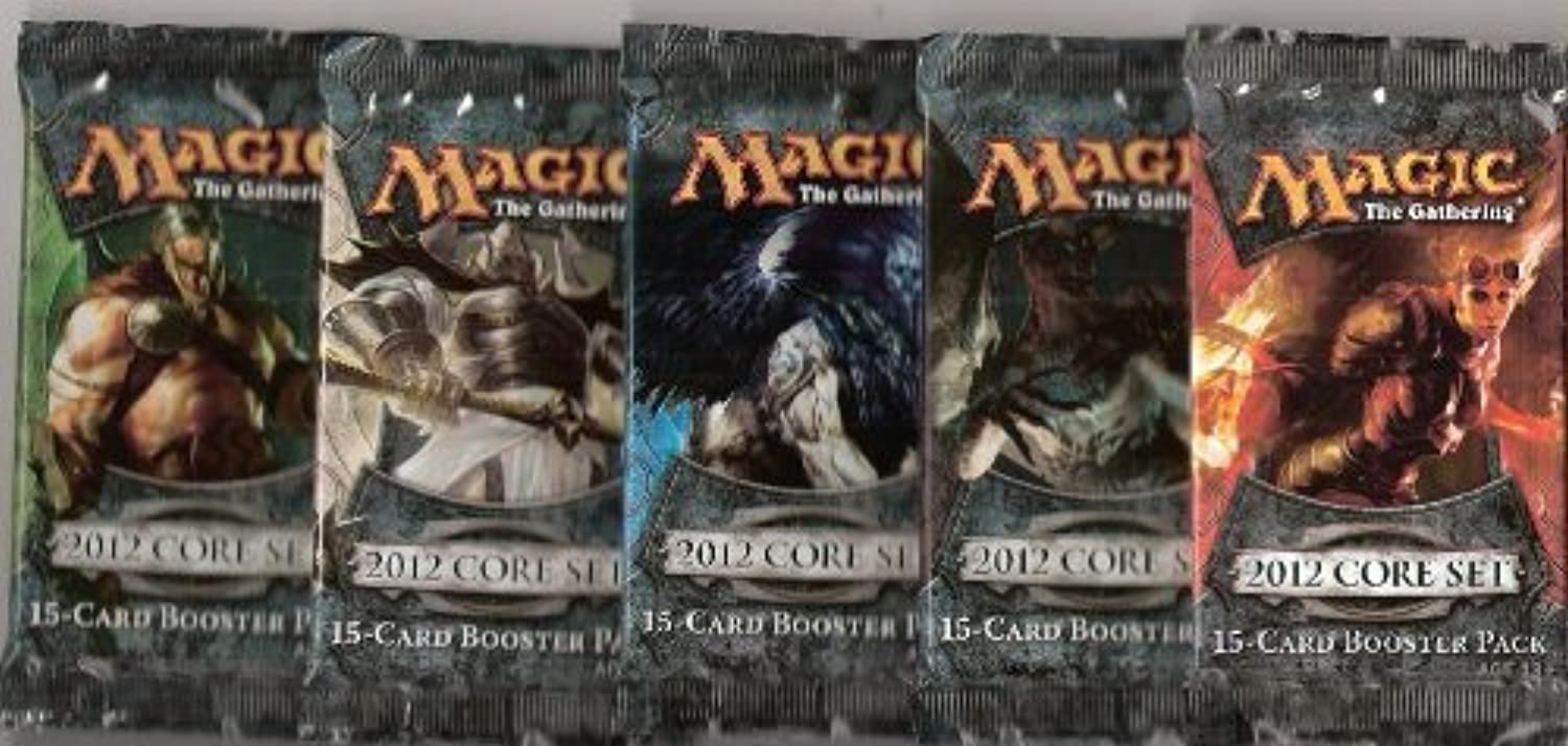 Magic the Gathering M2012 Lot of 5 Booster Packs
