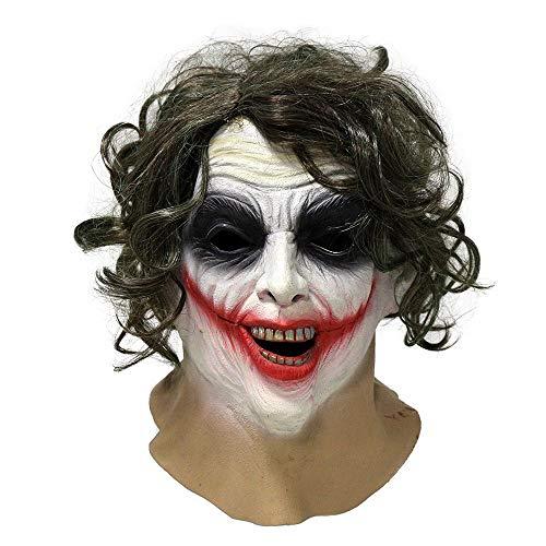 Kaapow Joker máscara de látex de...