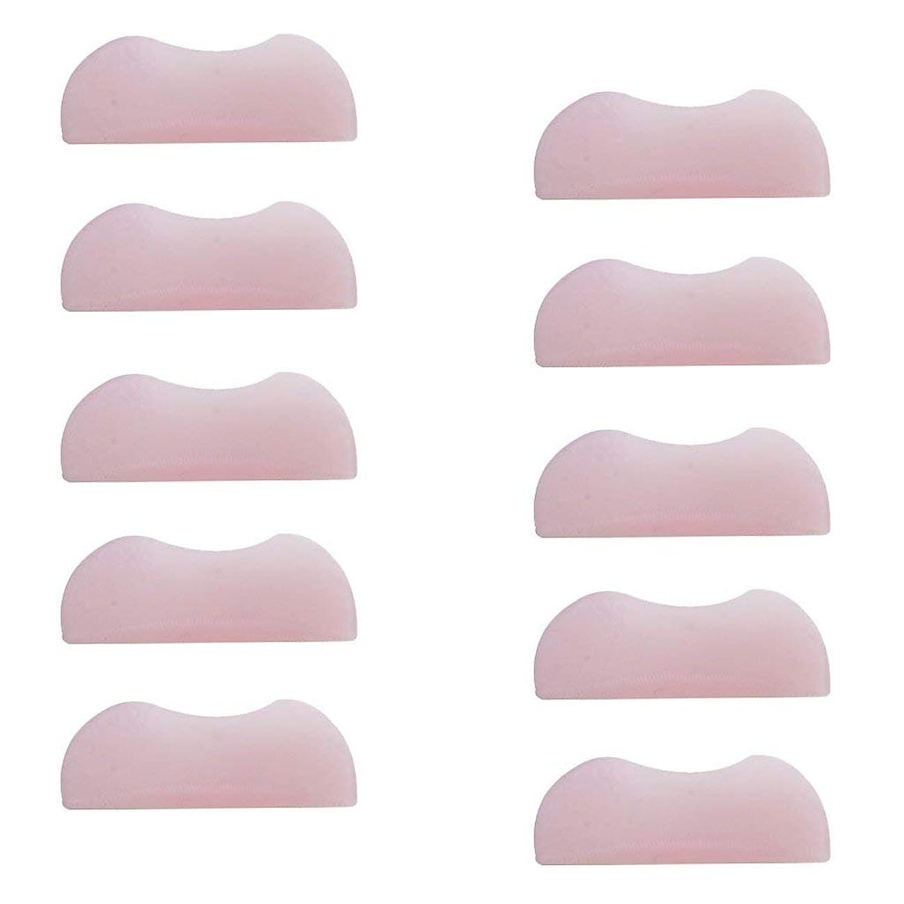 コストうぬぼれたバングラデシュ5組 シリコンのまつげパッド まつげ美容用のまつげパーツキット