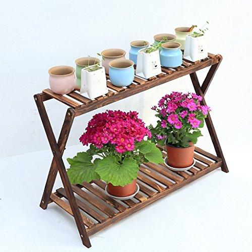 Fu Man Li Trading Company Eclairier à fleurs en bois carbonisé à deux couches et parquet en bois A+