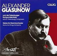 Glazunov;Works String Orch.