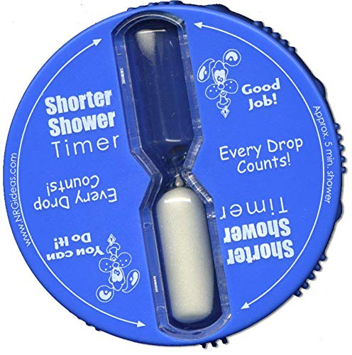 Nrg ideas Five Minute Shower Timer Kid Friendly Battery Free Hot Water...