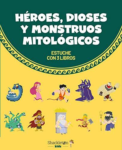 Héroes, dioses y monstruos mitológicos: Estuche con tres libros (Mitología para niños)