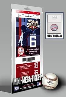 MLB Yankees Game 6 2009 World Series Mini Mega Ticket