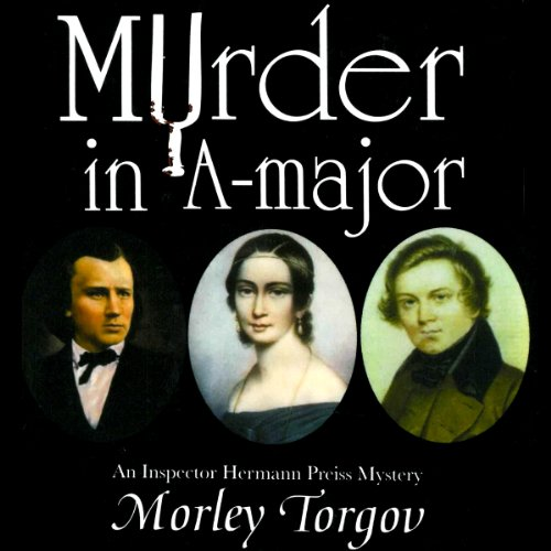 Murder in A-Major audiobook cover art