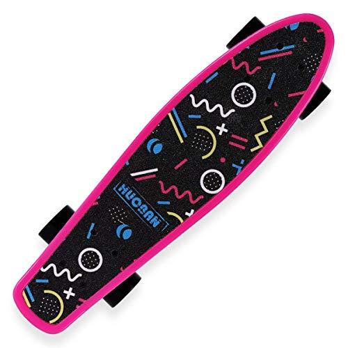 Nologo Xjdmg Skateboarding Profesional, Completa Calle Monopatín, adecuados for los Adolescentes, Adultos, Principiantes, niños