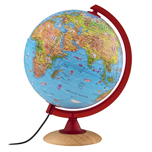 Waypoint Geographic Safari Explorer Animals Globe for Children's Globe with 100's of Animal...