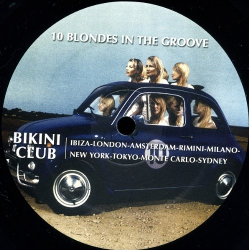 10 Blondes In The Groove - Bikini Club / Salsoul Orchestra 12