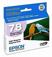純正OEM ブランド名 EPSON #78 R260/R380/RX580 ライトマゼンタ インクジェットカートリッジ T078620
