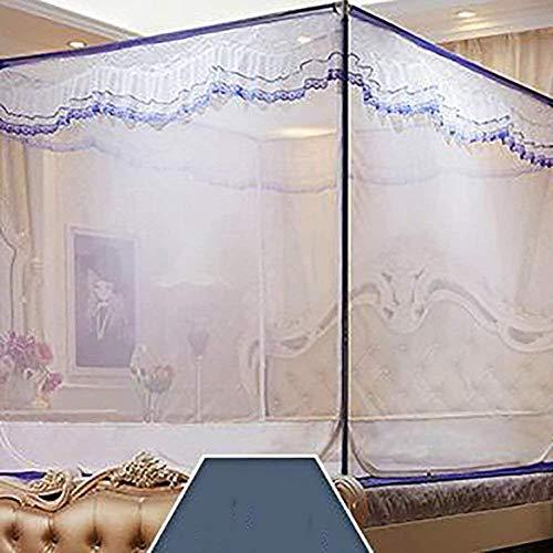 gengxinxin Moustiquaire De Lit De Lit Moustiquaire Universelle pour Lit À Installation Facile Doors Bed Sitting Yourte Home Double Mosquito Curtain A 1 (Color: Color Size: Size) -Size_Colour