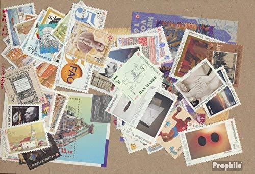 Prophila Collection Kroatien 306-362 (kompl.Ausg.) Jahrgang 1995 komplett 1995 Krawatte, Musik, Fauna, Hunde u.a. (Briefmarken für Sammler)